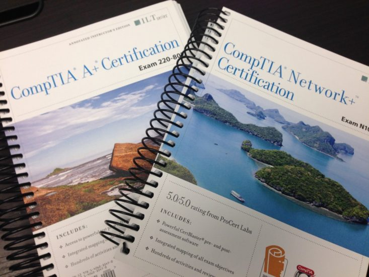CompTIA A+ and Network+