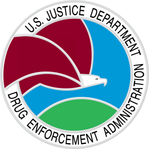 Drug Enforcement Agency Logo DEA