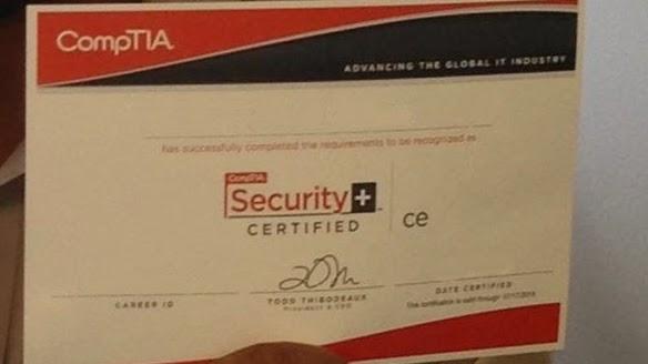 security comptia plus professionals say certification pros speak