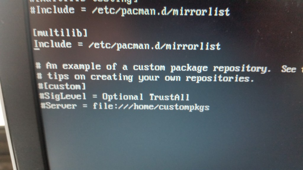 pacman_config_file