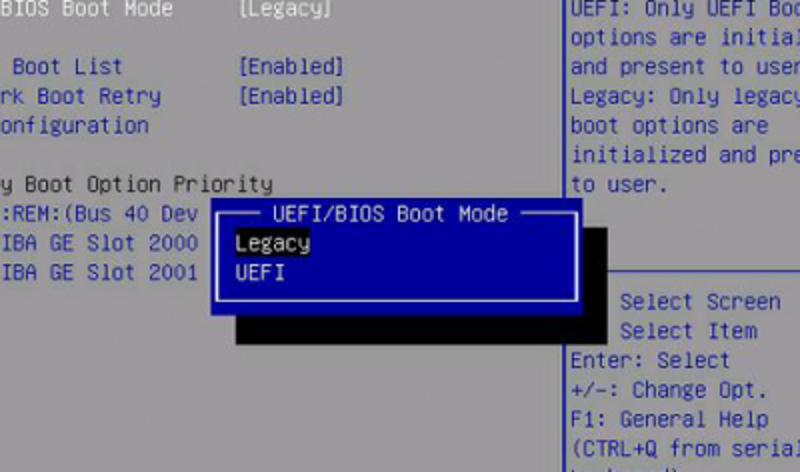 UEFI vs Legacy BIOS Booting: What's the Difference? | TechRoots