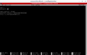 pianobar configuration file