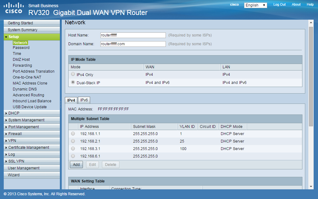 cisco ip setup