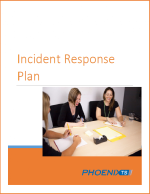 incident response template cover