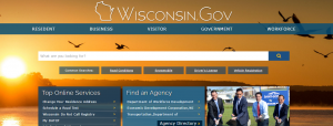 Wisconsin.gov site built with SharePoint