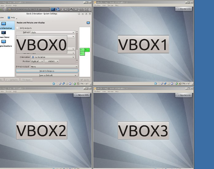 virtual box multiscreen