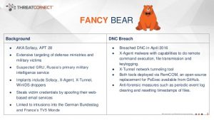 Threatconnect Fancy Bear